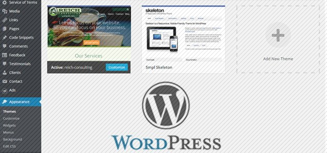 How to create a wordpress theme thumbnail image reich for Making a wordpress template