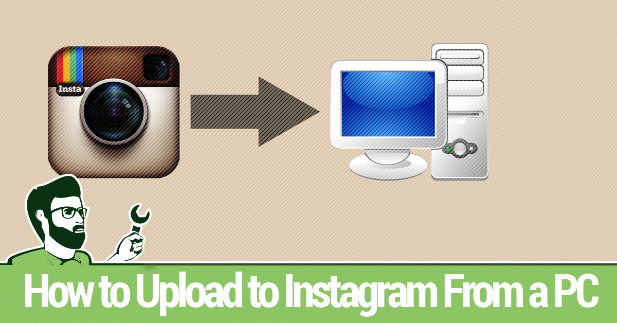 how to connect instagram with facebook in pc