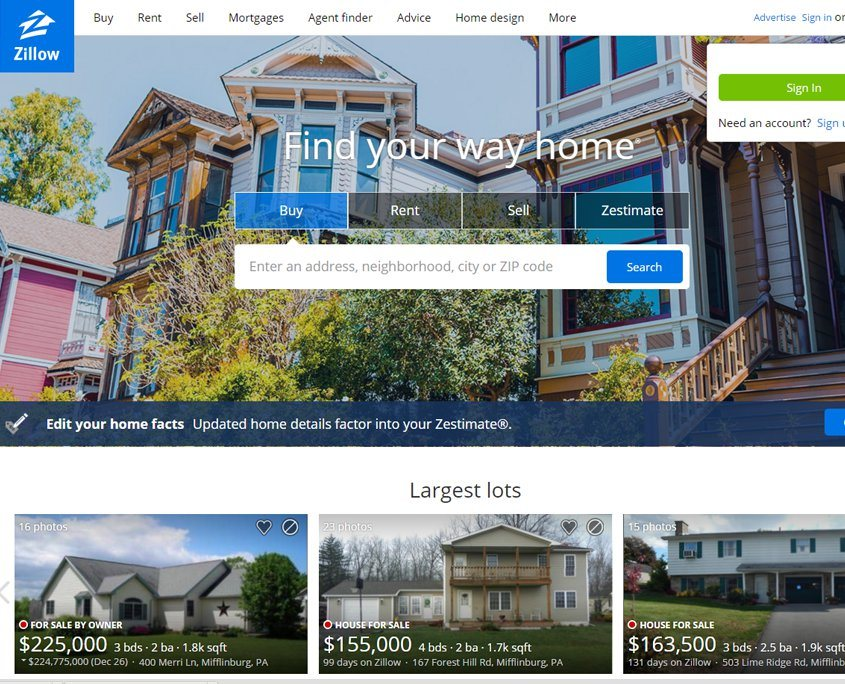 Zillow Integration for Savidge Housing Group   Reich Web