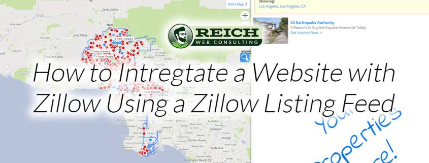 zillow listing feed Tag Archives | Reich Web Consulting on
