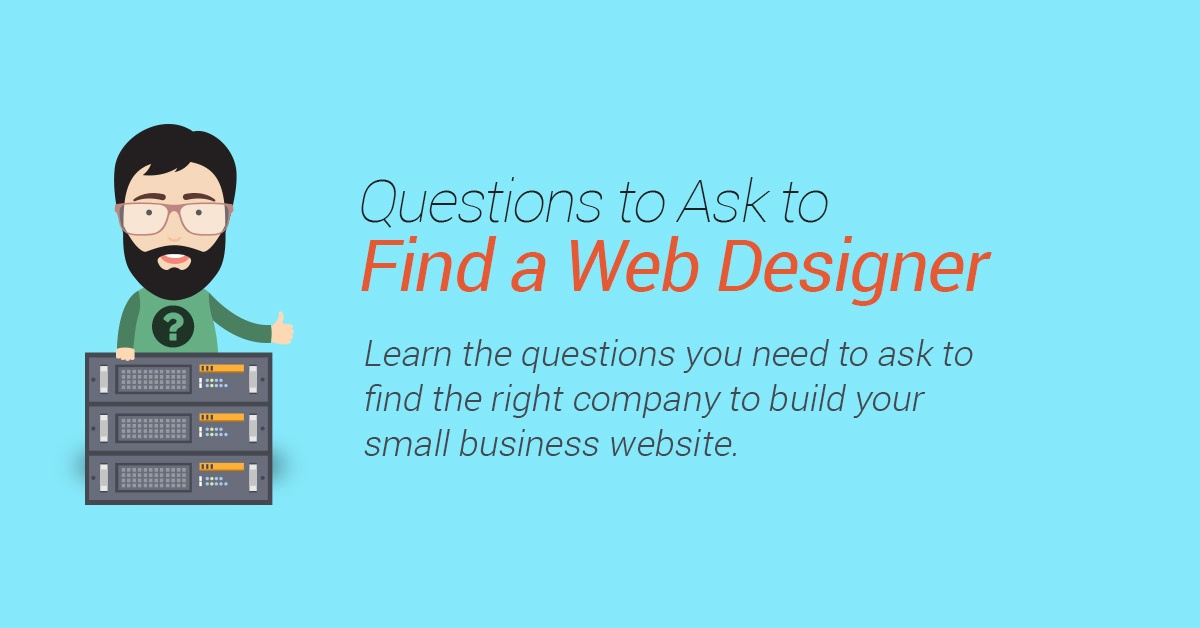 Questions to Ask to Find a Web Designer | Reich Web Consulting