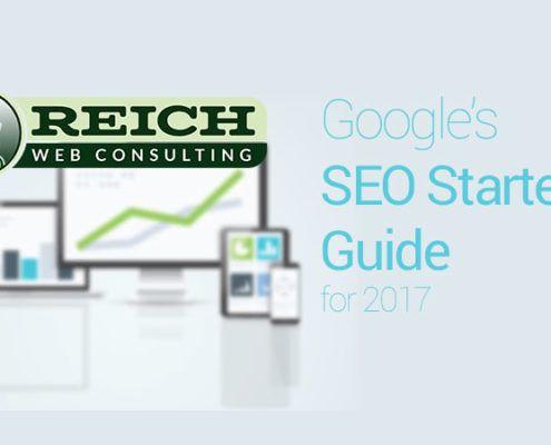 Google SEO Starter Guide 2017